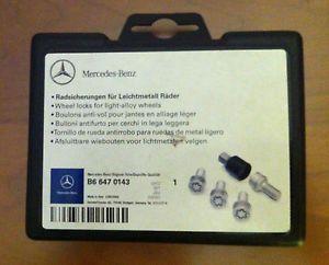 Mercedes Benz Wheel Locks B6 647 0143