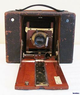 Antique 1897 No 4 Cartridge Kodak Folding Box Camera Instruction Manual