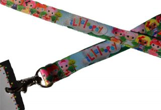 12 Lalaloopsy Birthday Party Favor ID Lanyards w Name Cards