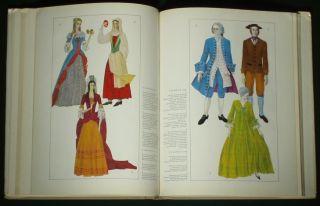 Book Ukrainian Fashion History Folk Costume Medieval Dress Pattern European Asia