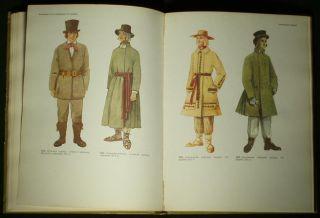 Book Baltic Folk Costumes Latvia Lithuania Estonia European Ethnic Fashion Dress