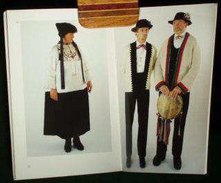 Book Italian Folk Costume Cogne Ethnic Peasant Dress Alpine Fashion Jewelry Alps