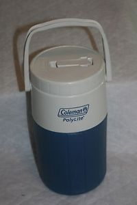 Coleman Polylite 1 2 Gallon Water Jug Cooler Container Bottle Drink 5590 Blue