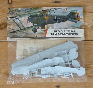 1960s Airfix 1 72 Scale Hannover CL IIIA Bagged Kit