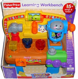 Fisher Price Learning Workbench Baby Toy Tools ABCs Laugh Learn