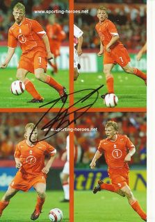 Dirk Kuyt Holland Nationalteam Foto Mit Unterschrift 144820 Mik