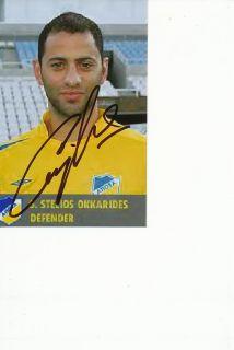 Stelios Okkarides Apoel Nikosia auf Foto 72484