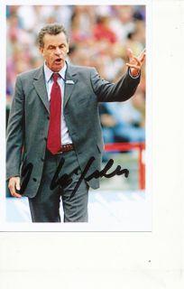 Ottmar Hitzfeld Bayern München Foto Mit Unterschrift 146310