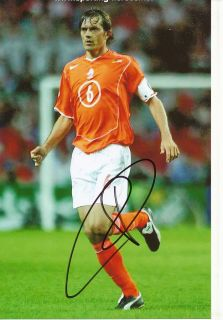 Philippe Cocu Holland Nationalteam Foto Mit Unterschrift 144830 Mik