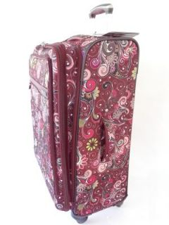 "Ricardo Sausalito Luggage Pomegranate 24"" Spinner Expandable Upright Pullman"