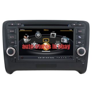 Car DVD Player GPS Navigation Radio Stereo iPod MP4 Touch Screen for Audi TT