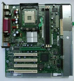 Dell Dimension 4500 Socket 478 Motherboard 4P615 Tray