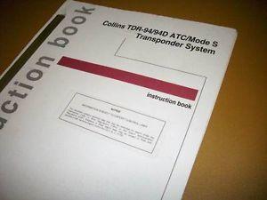Collins TDR 94 TDR 94D Mode s Transponder Install Manual