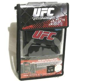 Official UFC Mixed Martial Arts Training Gloves Small Medium MMA s M Grappling