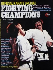 1974 Official Karate Magazine Jim Kelly Wally Slocki Kung Fu Martial Arts