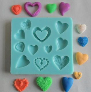 1pcs Lovely Shaped Chocolate Candy Jello 3D Mold Mould Cartoon Figre Cake Tools