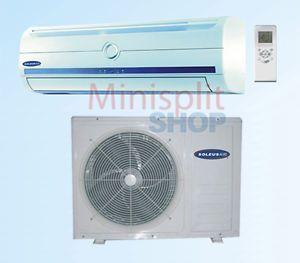 9000 Soleus Mini Split Air Conditioner A C Heat Pump