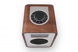 DAB Designradio Ruark Audio R1 MK2 Walnuss Sound System Handgefertigt Aus Holz
