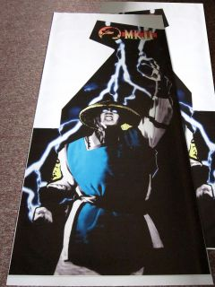 MK2 Mortal Kombat 2 Arcade Full Side Art Sideart Set 2 Sides Weekend Sale