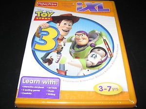 Toy Story 3 Fisher Price iXL Learning Software New SEALED Free Combined Shipping