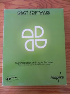 Inspira Qbot 4D Quilting Design Layout Software Program New