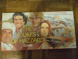 Board Games The Dukes of Hazzard