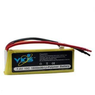 1600mAh 2S 7 4V LiPo Battery for Airsoft AEG and RC Drift Car