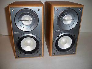 Sony SS CRB5 Bookshelf 2 Way Speakers