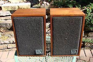 Vintage DLK Model 1 4 Bookshelf Speakers