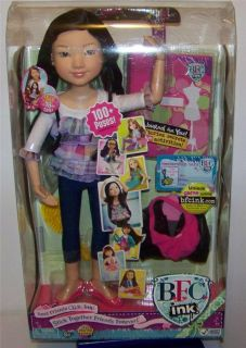 "BFC Ink Doll Yuko 18"" Ballerina Doll Asian Online Code Best Friends Club"