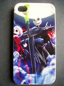 Jack Skellington iPhone 4 4S Cell Phone Cover Case Nightmare Before Christmas
