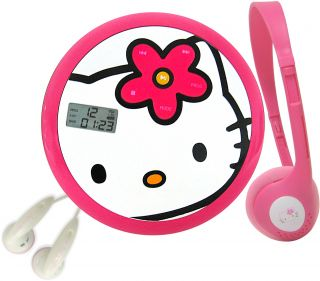 Hello Kitty Personal CD Player with 60 Second ASP Black Friday Deals