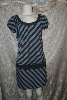 Heart Soul Cap Sleeve Multicolored Dress Size M