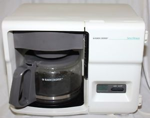 Black And Decker Spacemaker Coffee Maker White : Black Decker Spacemaker Under Cabinet Coffee Maker ODC300 12 Cup
