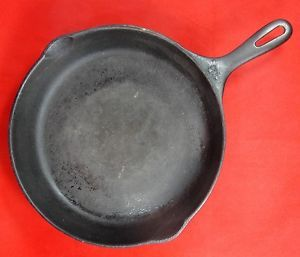 Vintage Cast Iron No 10 11 75 Skillet Frying Pan Cookware