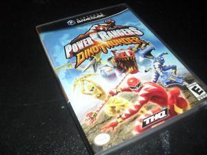 Power Rangers Dino Thunder Nintendo GameCube Wii Game Complete