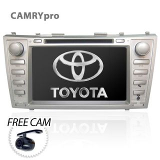 "8"" GPS Navigation Car DVD Player Radio HD Stereo for Toyota Camry Aurion XV40"