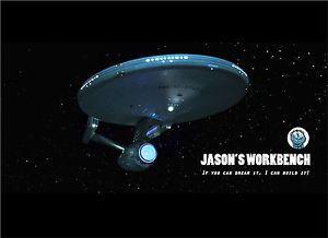 Custom Build Refit USS Enterprise 1 350 Scale One of A Kind