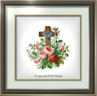 Ellen Maurer Stroh Cross Stitch Chart in Loving Memory