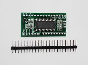 I2C Serial LCD Controller Keypad Control Arduino