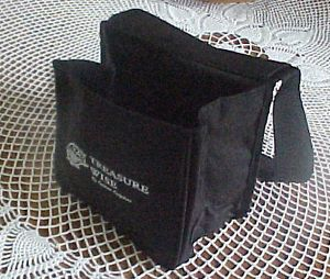 Details about TREASURE WISE METAL DETECTOR DETECTING POUCH U/W WHITES