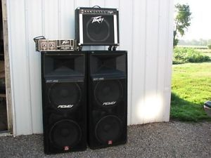 Details about PeaVey Guitar Amp, with older 400 series power amp with