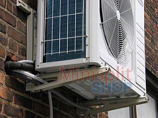 Split Air Conditioner Outdoor Condenser Mount Bracket   Holds 308 lbs