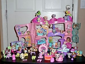 42 Littlest Pet Shop Cozy Care Adoption Center Biggest Basset Persian Chow Lot
