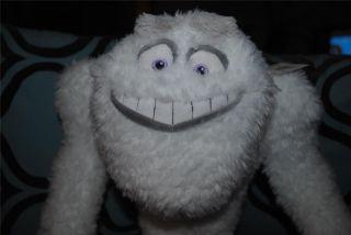 "Monsters Inc Plush Doll Abominable Snowman Yeti 17"" Original  New"