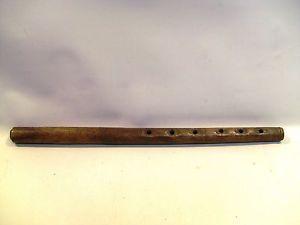 Antique Folk Art Wooden Flute Recorder Wind Musical Instrument