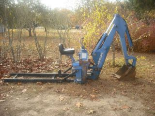 Ford New Holland 758C Tractor Backhoe Attachment Fits Any Three Point Hitch 3pt