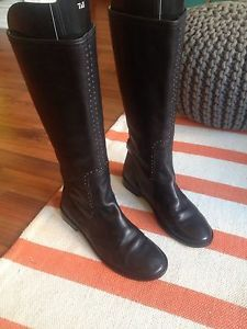 Frye Paige Studded Boot Size 8 Refurbished