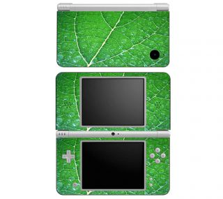 Z3 Nintendo DS DSi 3DS XL Decal Skin Sticker Cover Green Leaf Texture
