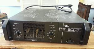 Peavey CS 800X 1200 Watt Professional Stereo Power Amplifier Amp